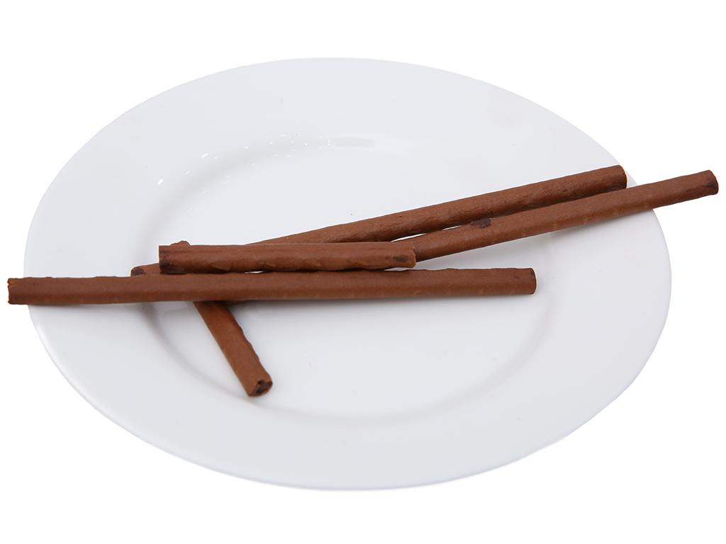Bánh que hương ca cao nhân sô cô la Toppo Lotte hộp 40g 4