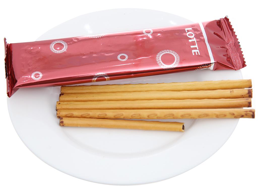 Bánh que hương vani nhân sô cô la Toppo Lotte hộp 40g 5