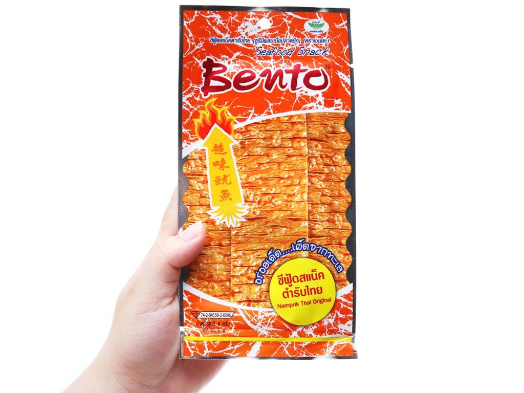 Snack mực tẩm gia vị kiểu Thái Bento gói 6g 3