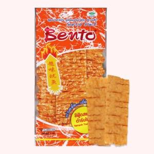 Snack mực tẩm gia vị kiểu thái Bento gói 6g