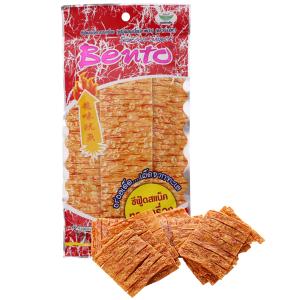 Snack hải sản tẩm gia vị cay ngọt Bento Sweet & Spicy gói 24g