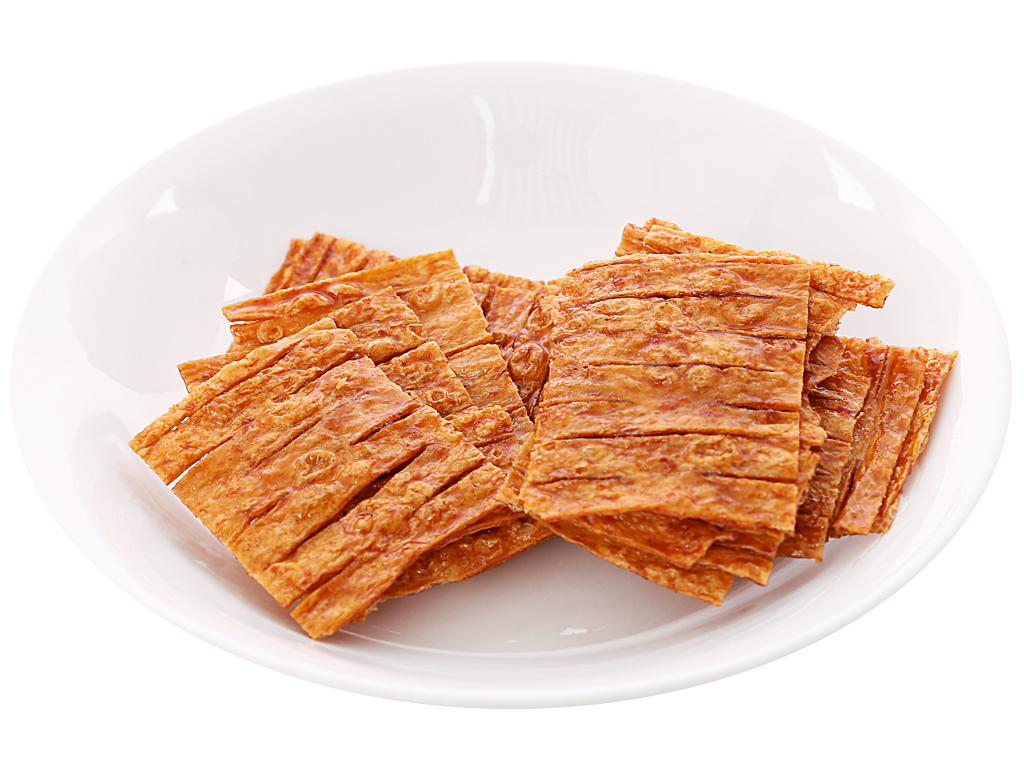 Snack mực tẩm gia vị cay ngọt Bento gói 24g 4