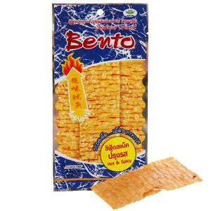 Snack hải sản tẩm gia vị đặc biệt Bento Hot & Spicy gói 24g