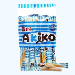 Snack que nhân sữa Oishi Akiko gói 160g