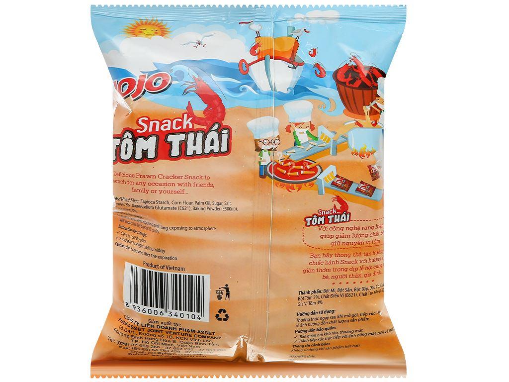 Snack tôm thái JoJo gói 35g 2