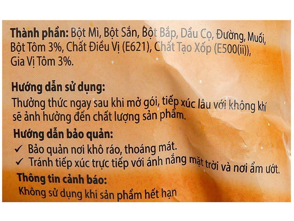 Snack tôm thái JoJo gói 35g 3