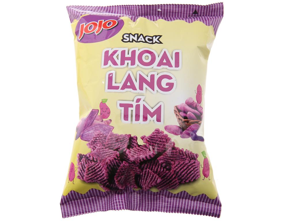 Snack khoai lang tím JoJo gói 40g 1
