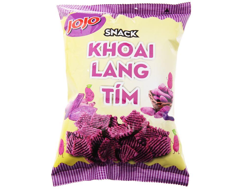 Snack khoai lang tím JoJo gói 40g 5