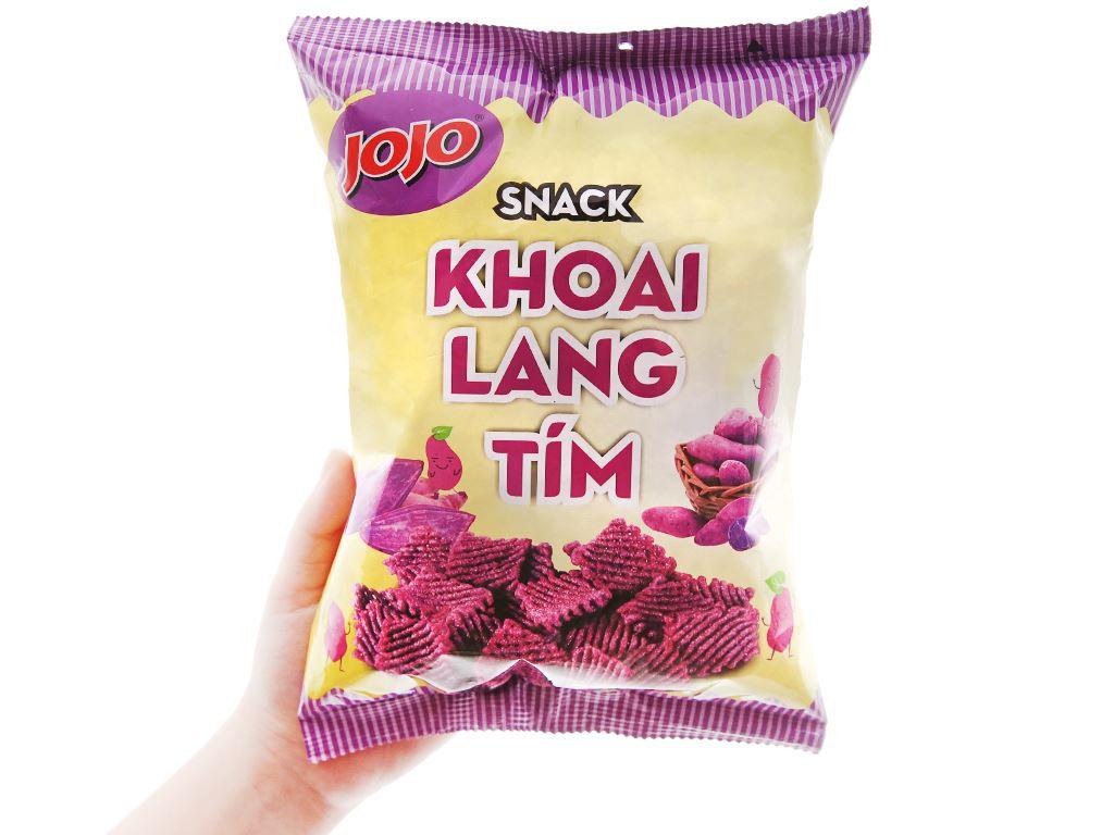 Snack khoai lang tím JoJo gói 40g 7