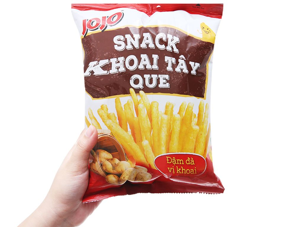 Snack khoai tây que JoJo gói 38g 7