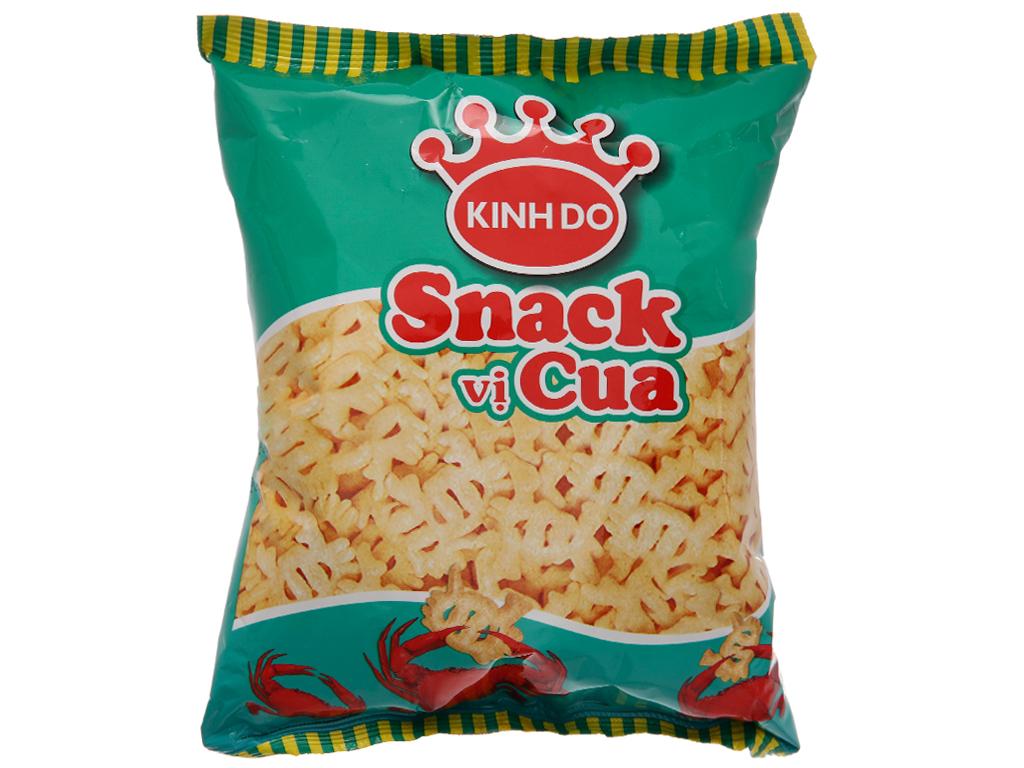 Snack vị cua Kinh Đô gói 32g 1