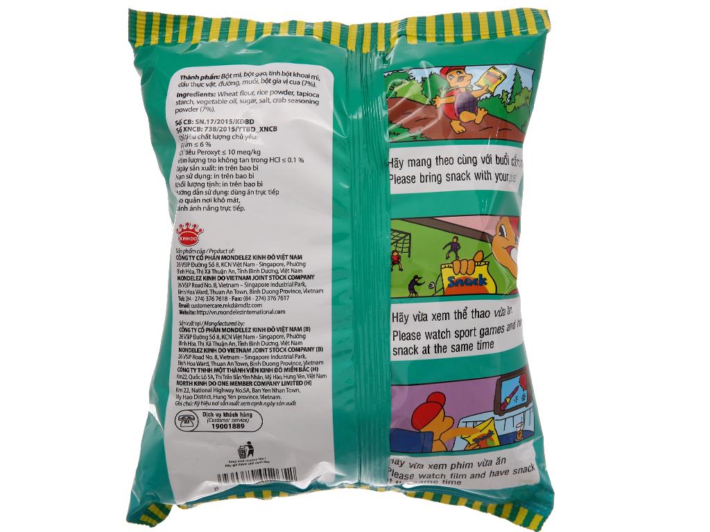 Snack vị cua Kinh Đô gói 32g 2