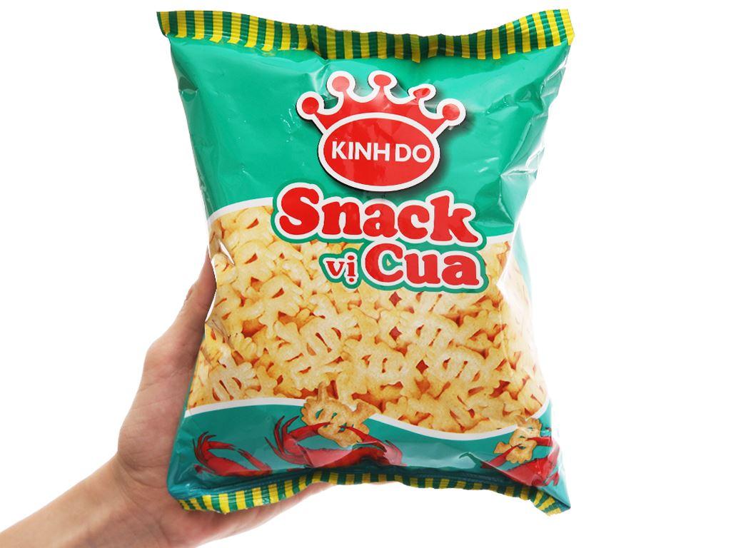 Snack vị cua Kinh Đô gói 32g 4
