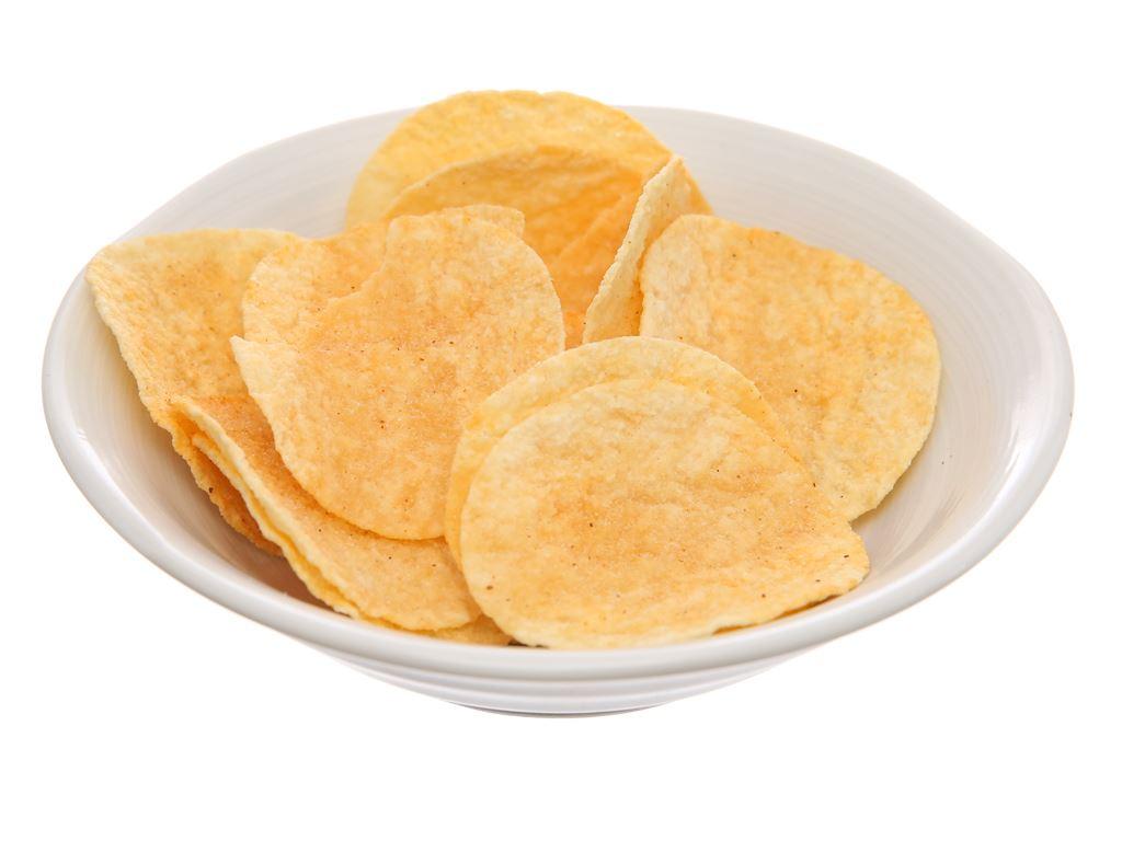 Snack khoai tây vị tôm hùm cay Lay's Stax lon 105g 4