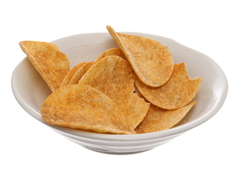 Bánh lát khoai tây vị thịt nướng Slide lon 100g 4