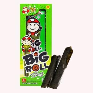 Snack rong biển nướng vị truyền thống Tao Kae Noi Big Roll hộp 21.6g
