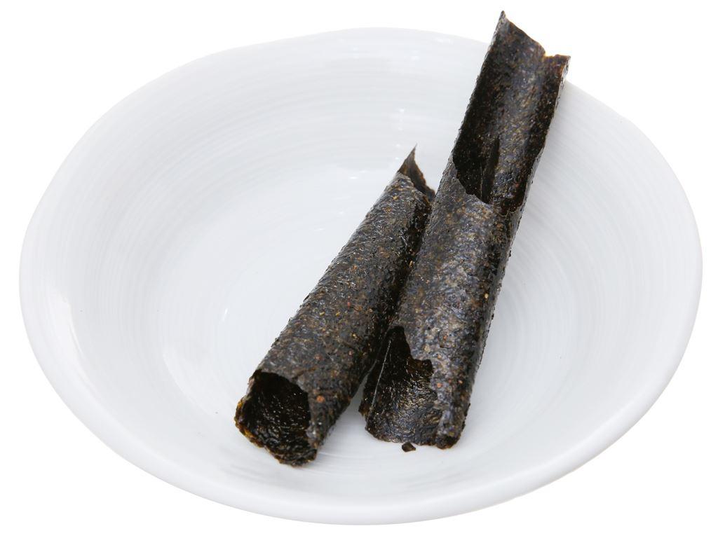 Snack rong biển nướng vị cay Tao Kae Noi Big Roll hộp 21.6g 4