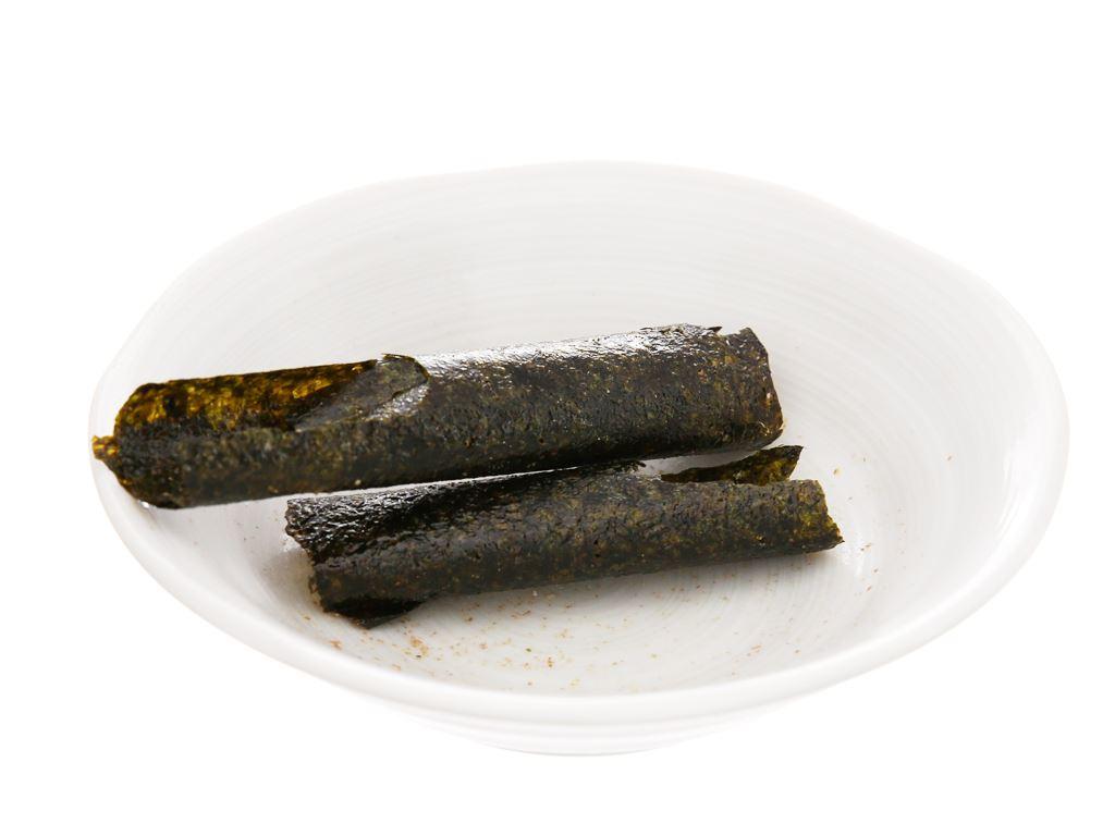 Snack rong biển nướng vị mực Tao Kae Noi Big Roll hộp 21.6g 5