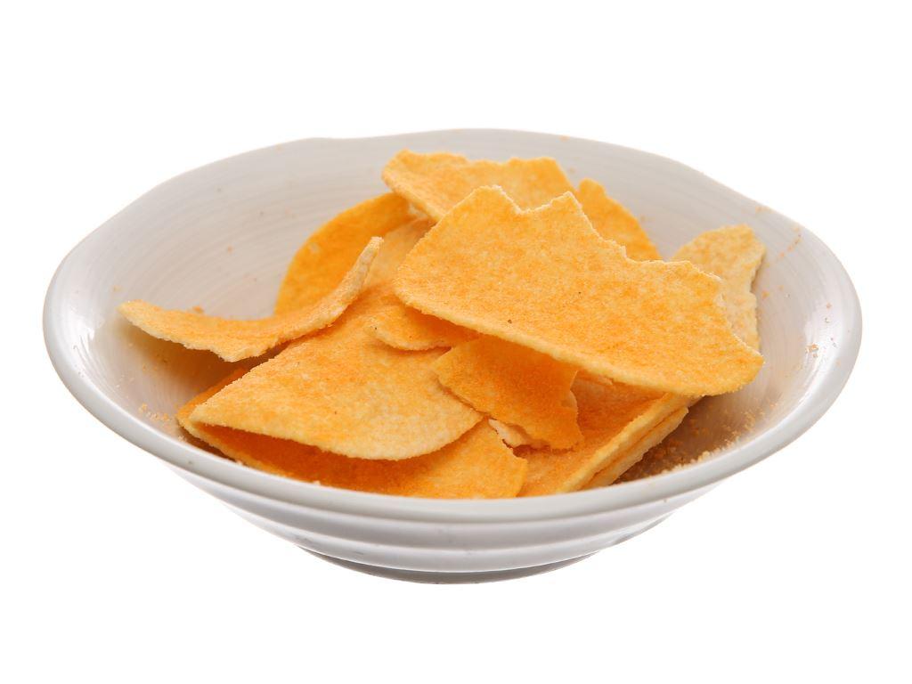 Snack khoai tây vị phô mai Slide lon 100g 8