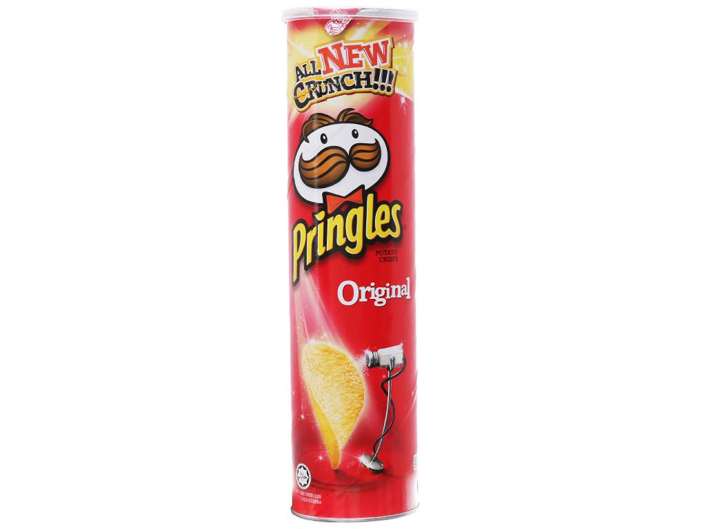 Snack khoai tây vị truyền thống Pringles lon 147g 5
