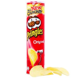 Snack khoai tây vị truyền thống Pringles lon 147g