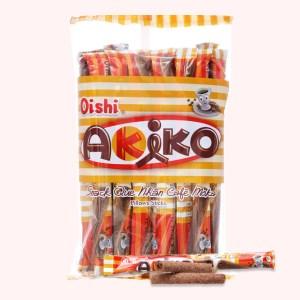 Snack que nhân cà phê moka Akiko Oishi gói 160g