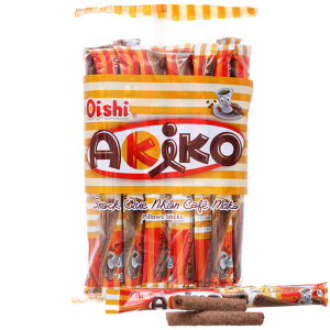Snack que nhân cà phê moka Oishi Akiko gói 160g