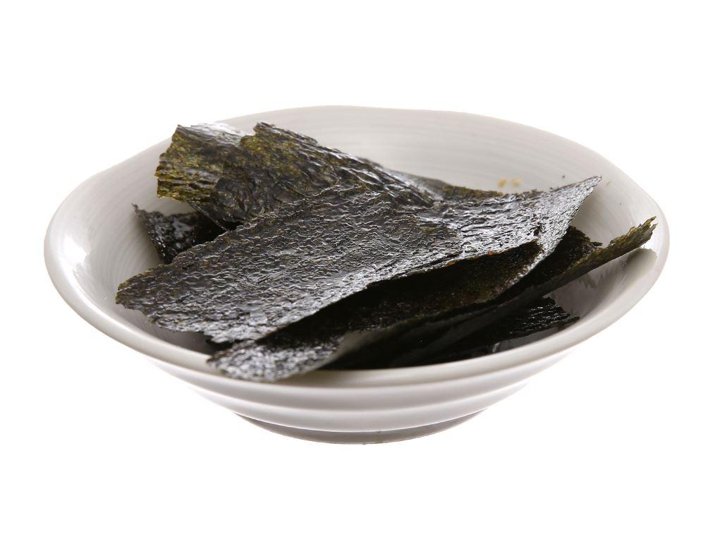 Snack rong biển nướng vị truyền thống Bibigo gói 10g 4