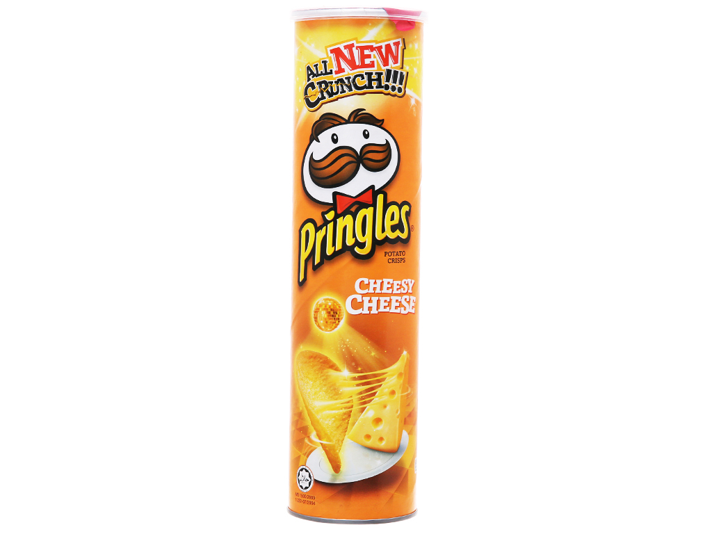 Snack khoai tây vị phô mai Pringles lon 147g 5