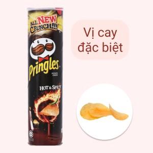 Snack khoai tây vị cay đặc biệt Pringles lon 147g