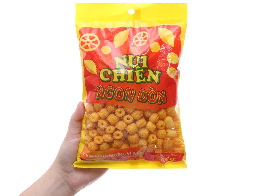 Nui chiên Ngon Dòn Hương Việt gói 200g 4
