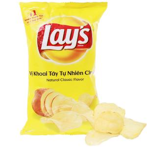 Snack khoai tây vị tự nhiên Classic Lay's gói 95g
