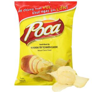 Snack khoai tây vị tự nhiên Poca gói 52g