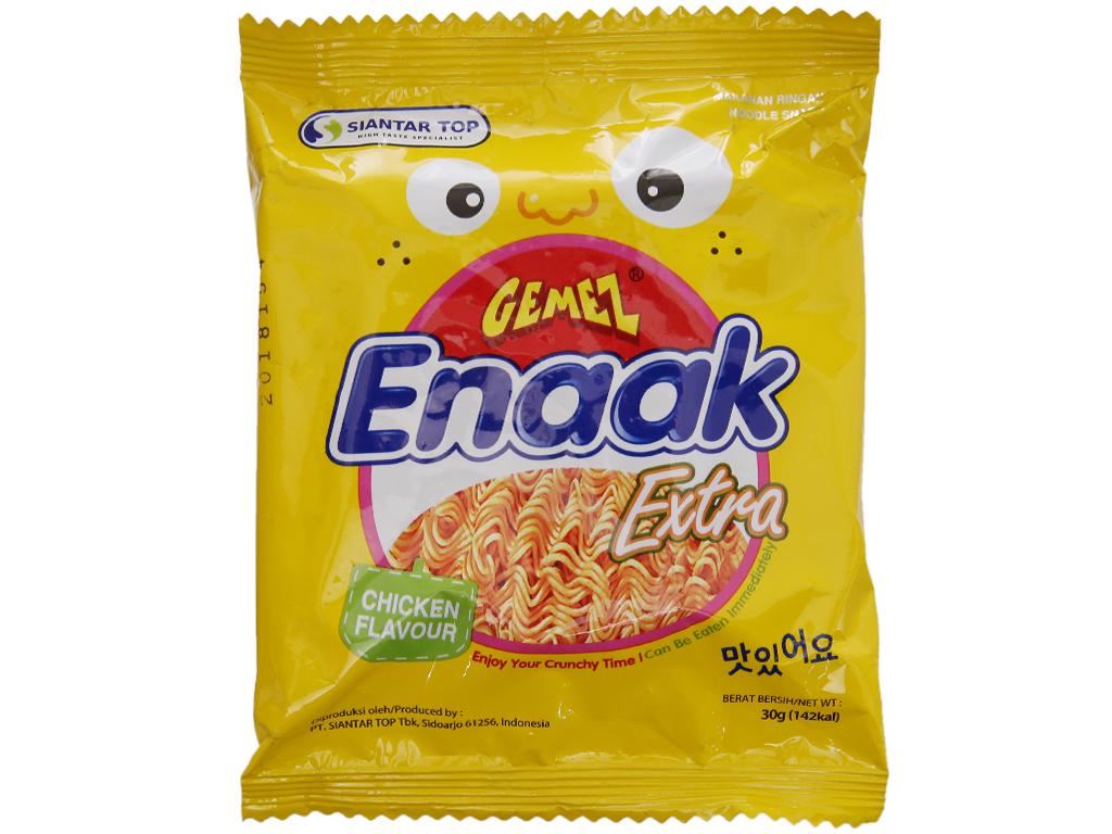 Snack mì hương gà Enaak gói 30g 2
