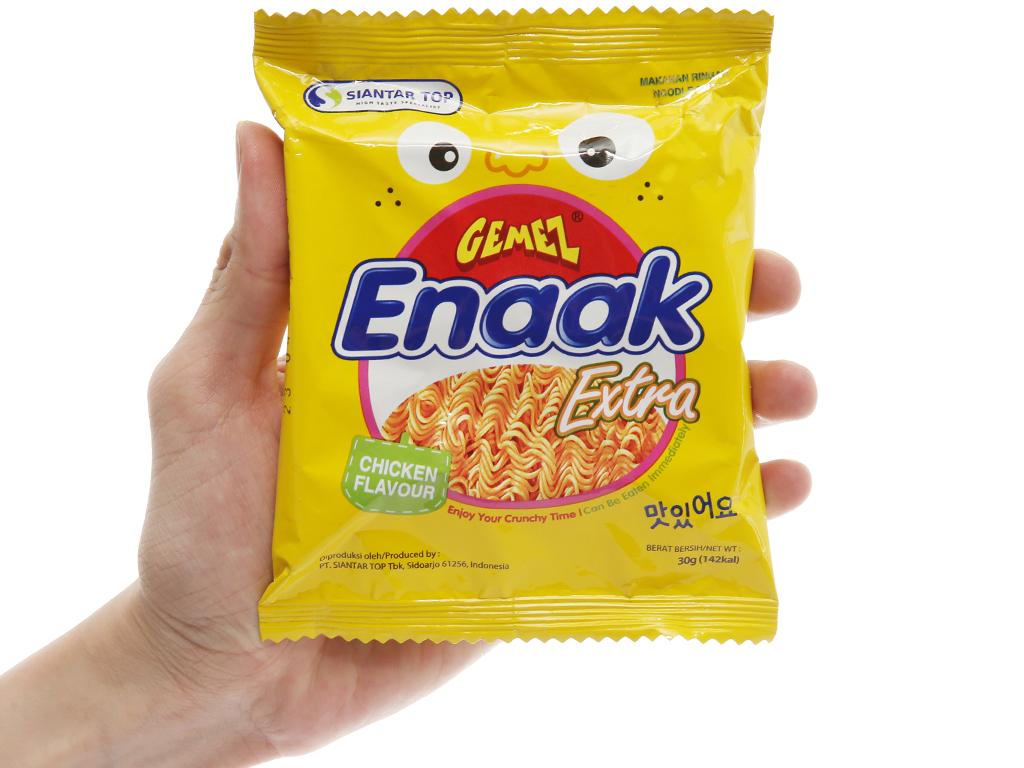Snack mì hương gà Enaak gói 30g 4