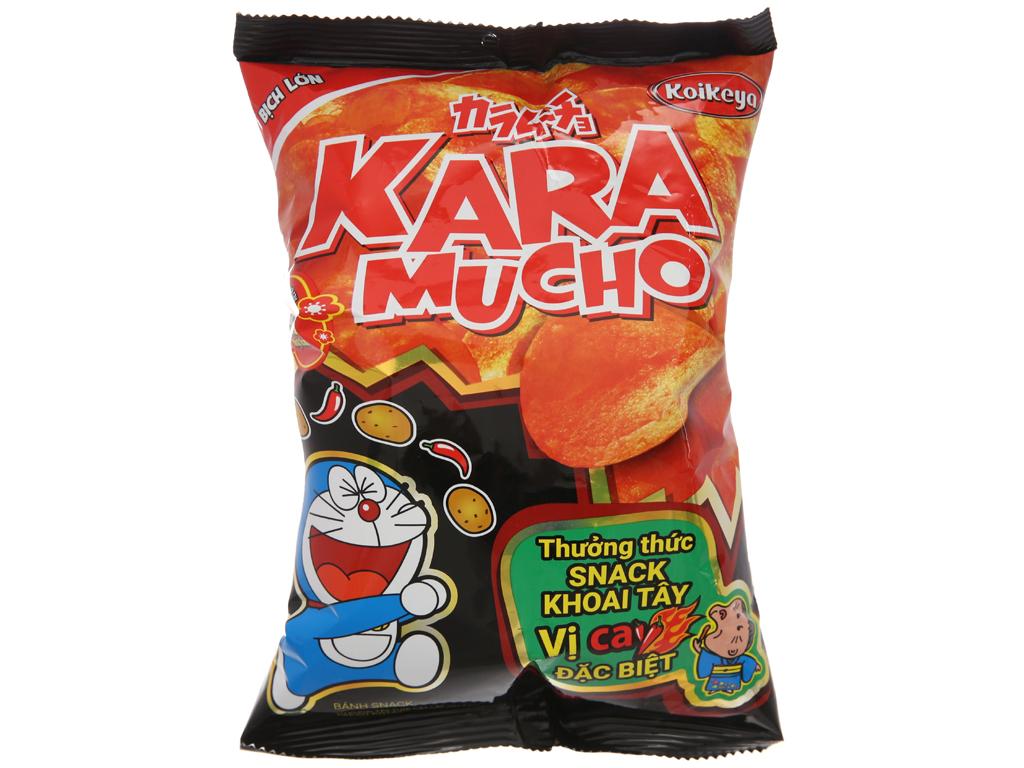 Snack khoai tây vị cay đặc biệt Karamucho gói 44g 1