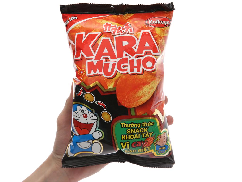 Snack khoai tây vị cay đặc biệt Karamucho gói 44g 3