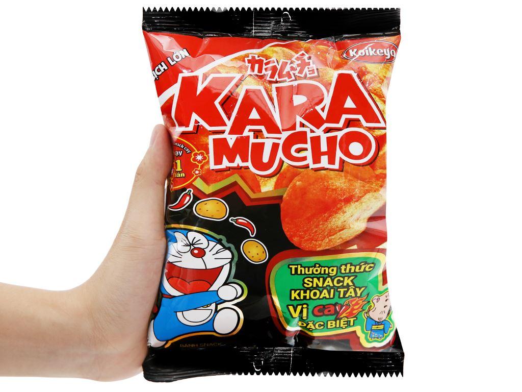 Snack khoai tây vị cay đặc biệt Karamucho gói 44g 9