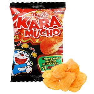 Snack khoai tây vị cay đặc biệt Karamucho gói 44g