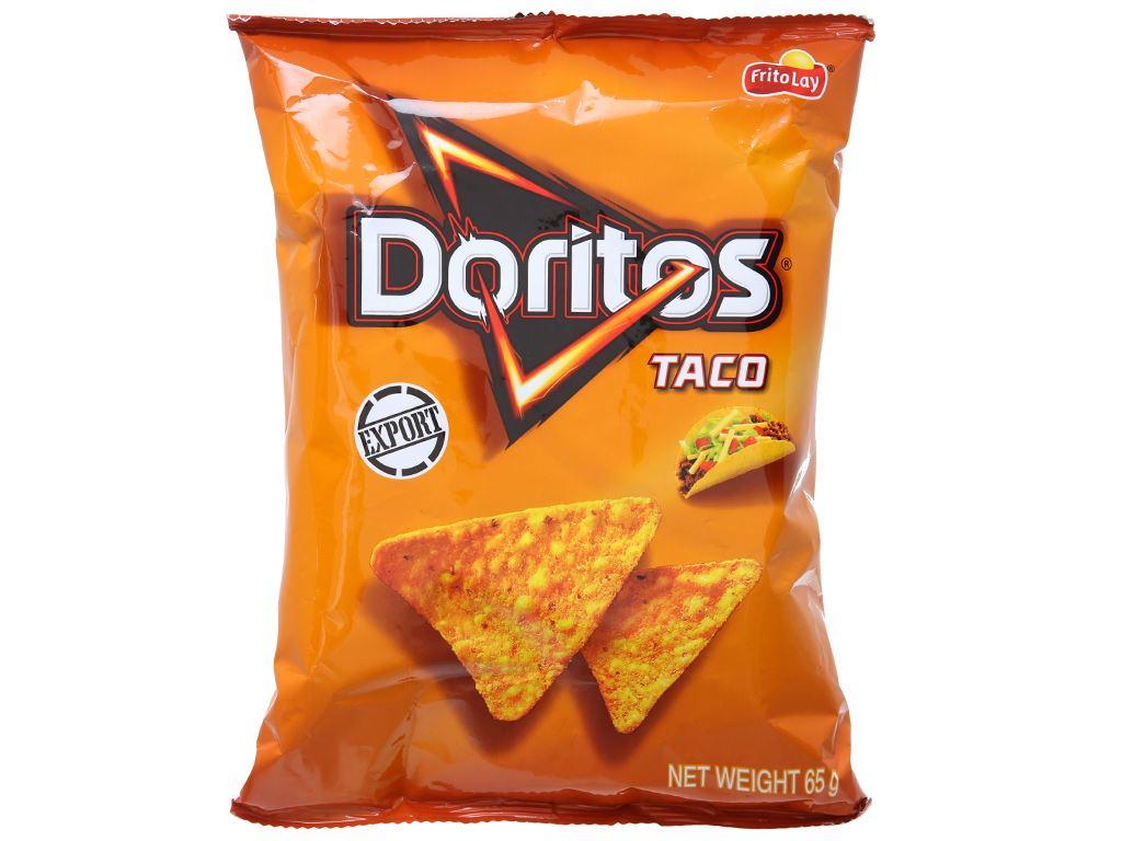 Snack vị Taco Doritos gói 65g 1