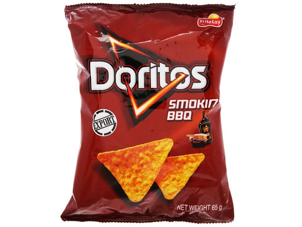 Snack Doritos vị Smokin' BBQ gói 65g 1
