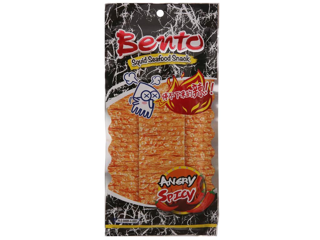 Snack hải sản tẩm gia vị cực cay Bento gói 20g 1