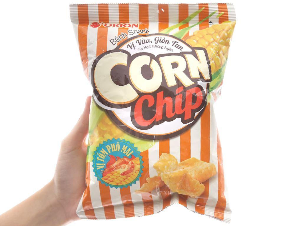 Snack vị tôm phô mai Corn Chip gói 35g 3