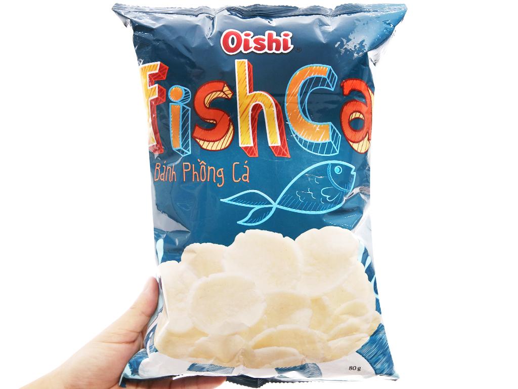 Snack bánh phồng cá Oishi FishCa gói 80g 3