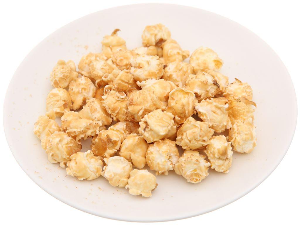 Snack bắp rang vị nước cốt dừa Oishi gói 40g 4