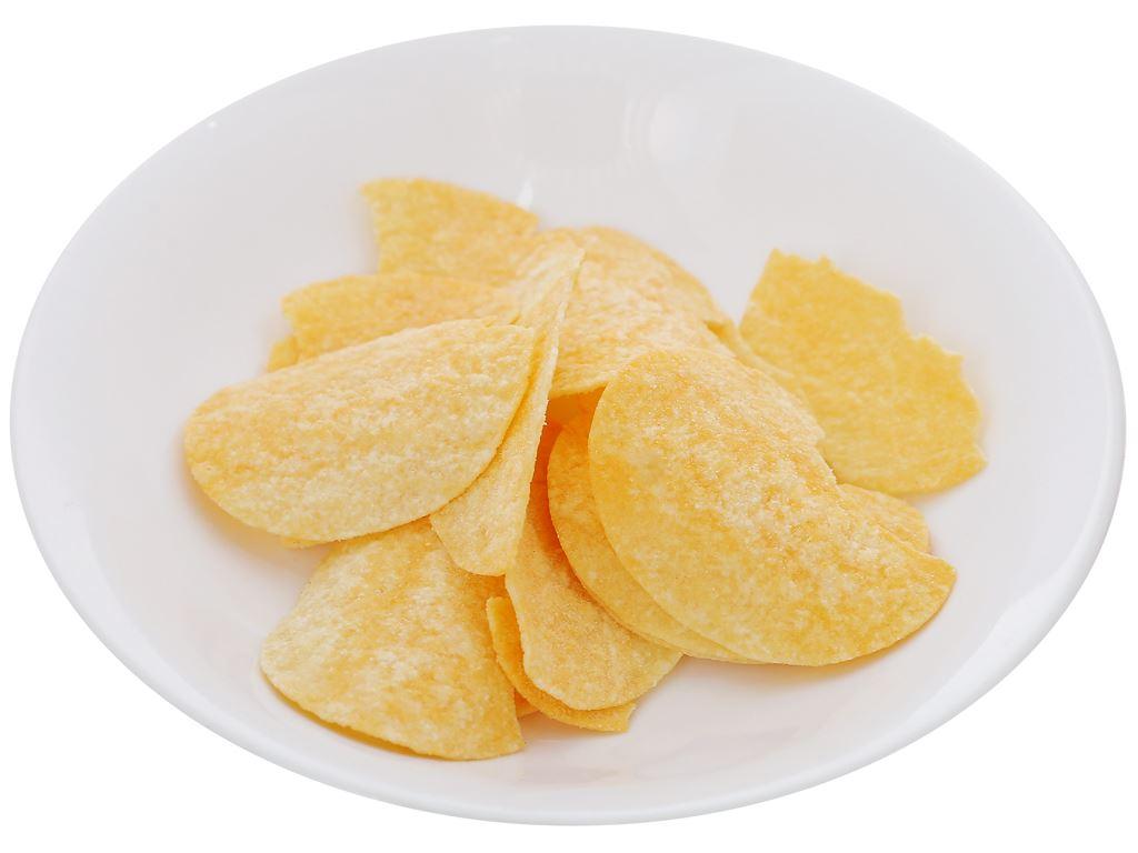 Snack khoai tây vị phô mai Pringles lon 107g 5