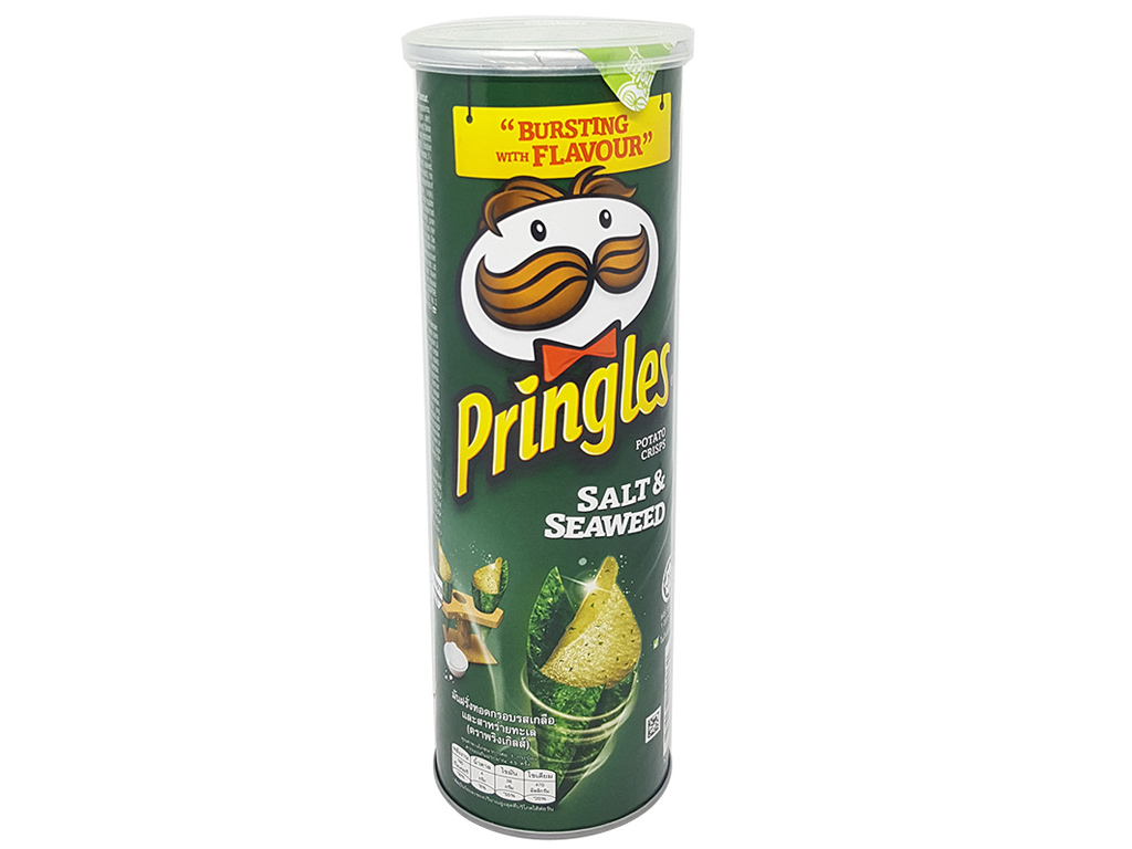 Snack khoai tây Pringles Vị muối & rong biển 110g 1