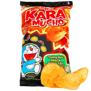 Snack khoai tây vị cay đặc biệt Karamucho gói 85g