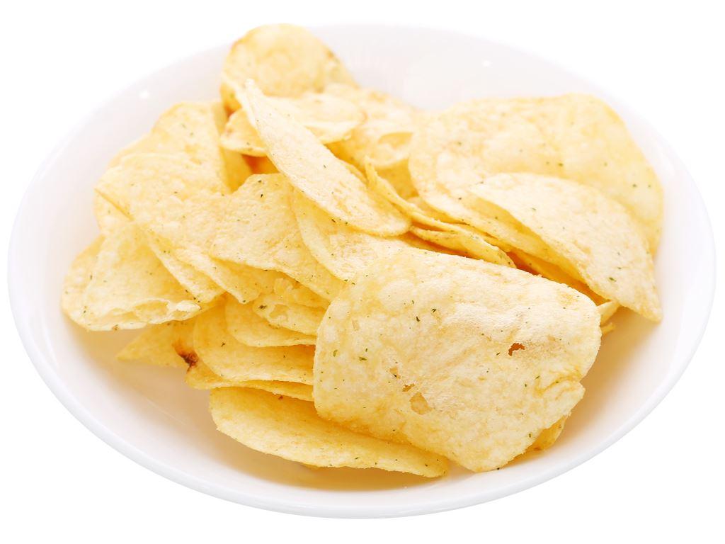 Snack khoai tây vị kem chua hành Lay's gói 56g 4