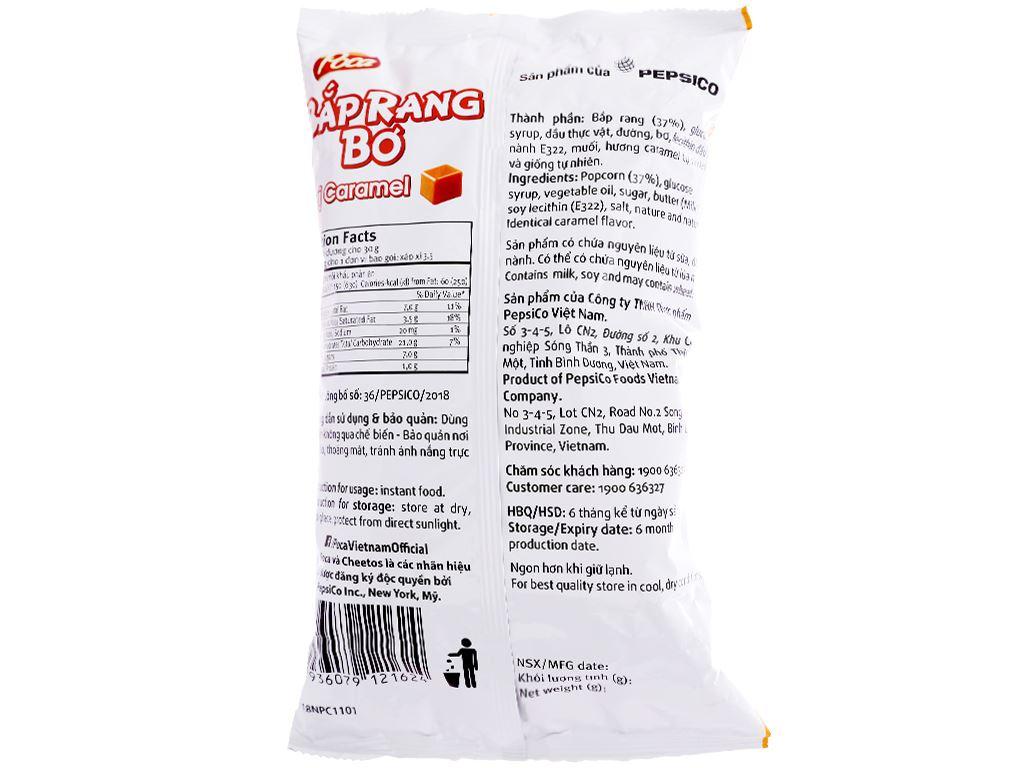 Snack bắp rang bơ vị caramel Poca gói 100g 2